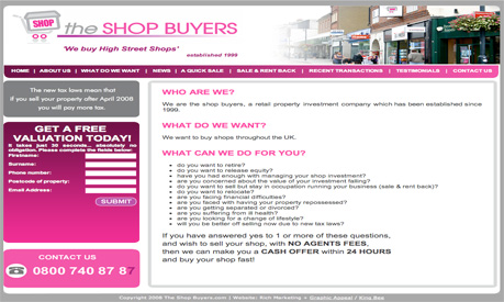 the shop buyers website